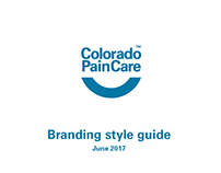 Colorado Pain Care Style Guide