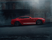 FORD MUSTANG 5.0 GT // RACE RED