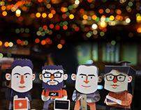 e-cheide.com Paper Toys