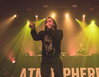 Concert Photography: Atmospehre & Brother Ali Tour.