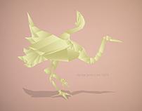 Origami crane