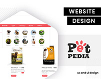 UI design for online pet store. UI by BrandzGarage