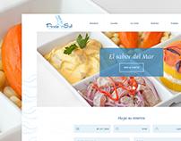 Cebichería Punta Sal - Diseño Web