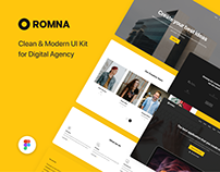 Romna - UI Kit for Figma