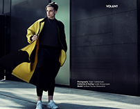"""Black and Yellow"" webitorial for VOLANT magazine"