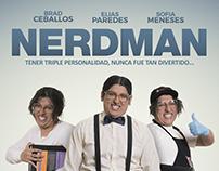 Portada de película NERDMAN