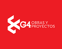 G4 Obras y Proyectos. Branding