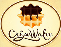 "Branding Food Cart "" Crepe Wafee"""