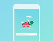 Family Vacation Rentals iOS Application Design