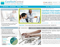 CareTech Central - Custom Intranet Application