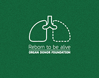 Before leaving - Reborn to be alive. Ad campaign.