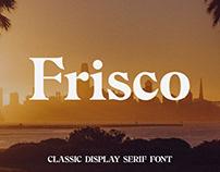 Frisco - Classic Serif Font