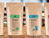 Blighty Cafe - Coffee Packaging