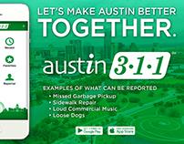Austin 3-1-1 Outreach Campaign
