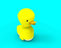 """Silly Ducky"" Bath Toy"
