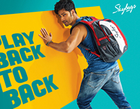 Skybags- Campaign with Varun Dhawan