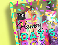 Happy Day's Box N°21• Identity and Package Design