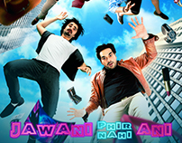 Set Design & Poster Work of Film Jawani Phir Nahi Ani