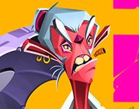 Killer Monkey - Ilustración