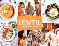 Free Lentil Mobile & Desktop Lightroom Presets