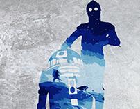 R2D2 & C3PO Star Wars