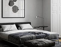 Bedroom / Poliform Park bed