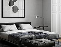 Bedroom / Poliform Park bed
