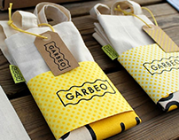 Garbeo promotional packaging