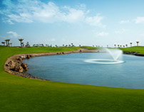 Royal Greens golf course at KAEC KSA
