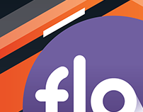 Flow brand design and motion graphics