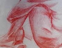 Desenhos em Sanguínea