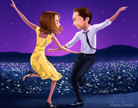 La La Land Fan Art