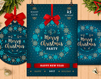 Christmas Party Poster & Cards