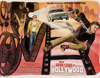 Once Upon A Time In Hollywood - Alternate Movie Poster