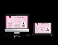 Website für Aum Yogaschule Wiesbaden