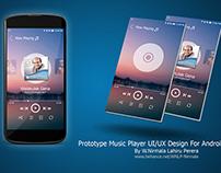 Music Player UI/UX Design