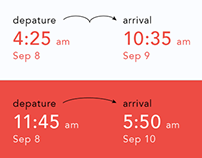 Departures and Arrivals. App