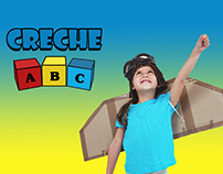 Rebranding do logotipo da Creche ABC
