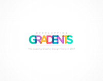 The New Design Trend in 2017 - Overlapping Gradients