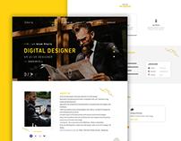 Khairy - Personal Portfolio, CV & Resume Free download