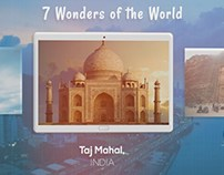 7 Wonders of World Slideshow