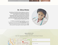 Landing page: Holistic doctor