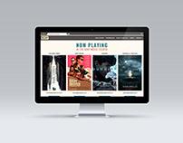 Movie Theatre Website Redesign