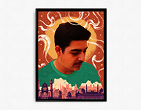 Peer Portrait Poster