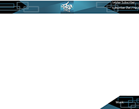 Twitch channel overlay