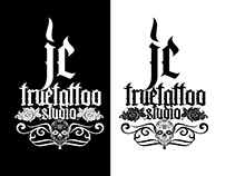 Logotype JC True Tattoo Studio (Graphic Design)