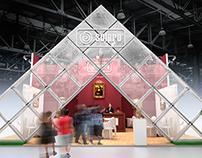 SOLPRO exhibiton stand concept. PRODEXPO 2015