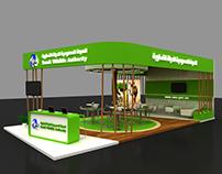 Saudia Wildlife booth
