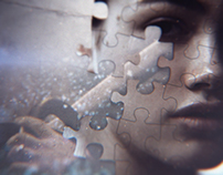 Puzzle | Main Title Concept Design