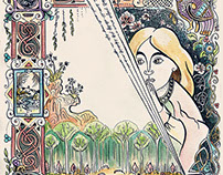 Illuminated Manuscript Fairytale